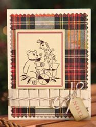 お洒落なクリスマスカード