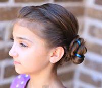 アナと雪の女王の髪型動画