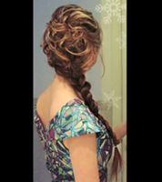 エルサの髪型