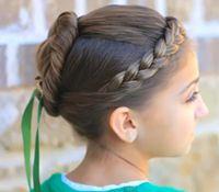 エルサ 髪型 2