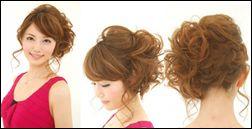 結婚式のヘアアレンジに挑戦
