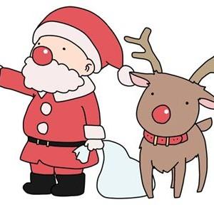 クリスマスのかわいいイラスト