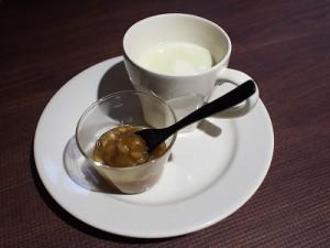 豆乳とバナナジャム