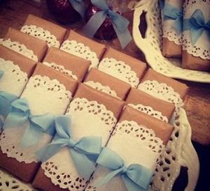 バレンタインのチョコバーラッピング
