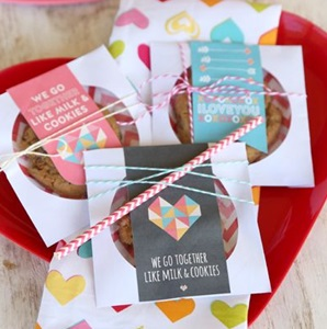 CDケースでバレンタインラッピング