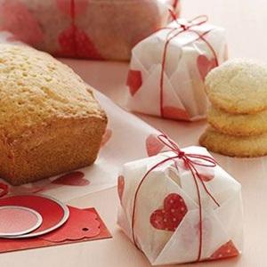 和菓子風のバレンタインラッピング