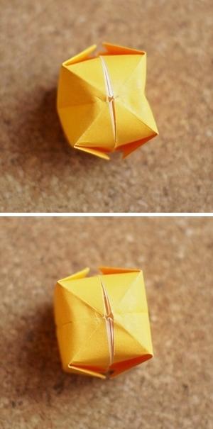 ハート 折り紙 折り紙 ぼんぼり : conveni7.com