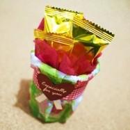 100均でバレンタイン「紙コップ」で可愛くラッピング、アイデア4種類と作り方