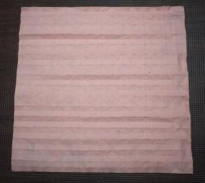 和紙を31分割した状態