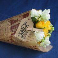 【創作】100均の花材で超簡単に作る花束ラッピングアイデア特集