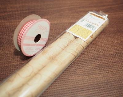 リボンと包装紙
