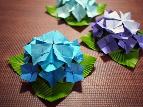 折り 折り紙 折り紙 紫陽花 : conveni7.com